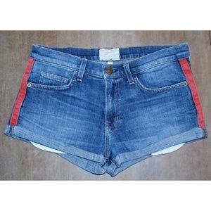Current/Elliott Rolled hem jean Shorts Womens 27